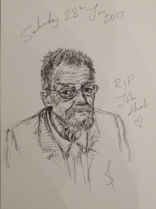 Ode to John Hurt RIP by Sophie E Tallis